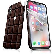 """Moje puzdro """"Čokoláda"""" + ochranná fólia pre APPLE iPhone XS - Ochranný kryt by Alza"""