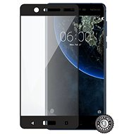 Screenshield NOKIA 5 (2017) Tempered Glass protection (full COVER black) na displej - Ochranné sklo