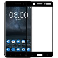 Screenshield NOKIA 6 (2017) Tempered Glass protection (full COVER black) na displej - Ochranné sklo