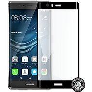 ScreenShield Huawei P9 Plus VIE-L09 Tempered Glass protection (full COVER BLACK metalic frame) - Ochranné sklo