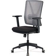 ARTIUM Abbey šedo/černá - Kancelárska stolička