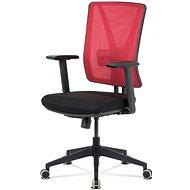 ARTIUM Abbey červeno/čierna - Kancelárska stolička