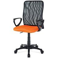 AUTRONIC Lucero oranžová - Kancelárska stolička