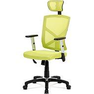 AUTRONIC Kokomo čierno/zelená - Kancelárska stolička