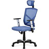 AUTRONIC Kokomo čierno/modrá - Kancelárska stolička