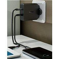 Aukey USB-C 2-port Wall Charger - Nabíjačka