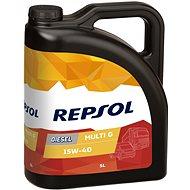 REPSOL MULTI G DIESEL 15W-40 5 l - Motorový olej