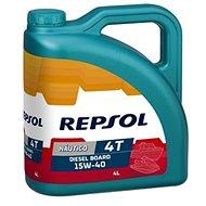 REPSOL NAUTICO OUTBOARD DIESEL BOARD 15W-40 4 l - Motorový olej