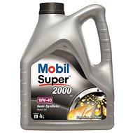 Mobil Super 2000 X1 10W-40, 4 l - Motorový olej