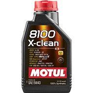 MOTUL 8100 X-CLEAN 5W40 1 L - Motorový olej