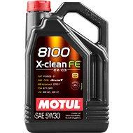 MOTUL 8100 X-CLEAN FE 5W30 5 L - Motorový olej