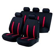 Walser poťahy sedadiel na celé vozidlo Hastings červené/čierne - Autopoťahy