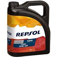REPSOL DIESEL TURBO THPD 15W40 5 l - Motorový olej