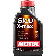 MOTUL 8100 X-MAX 0W40 1 L - Motorový olej
