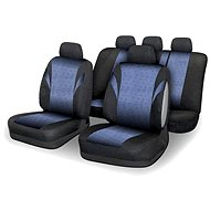 Compass Poťahy sedadiel sada 9 ks POLY modré AIRBAG - Autopoťahy