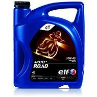 ELF MOTO 4 ROAD 10W40 - 4 L - Motorový olej
