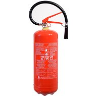 COMPASS Powder fire extinguisher 6kg ABC (34A) - Fire Extinguisher