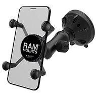 RAM Mounts kompletná zastava univerzálneho držiaku mobilného telefonu X-Grip s prísavkou na sklo, rám