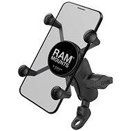 """RAM Mounts kompletná zastava držiaku mobilného telefonu """"X-Grip"""" s uchytením na 9 mm skurtku"""