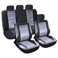 Poťahy sedadiel sada 9 ks DELUXE vhodné pre bočný Airbag - Autopoťahy