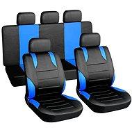 Poťahy sedadiel sada 9 ks sport  vhodné na bočný Airbag - Autopoťahy