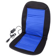 Compass Heated Seat Cover 12V Blue - Heated car seat