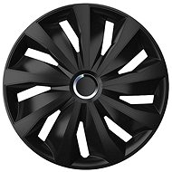 "COMPASS GRIP PRO BLACK Hubcaps 15"" - Wheel Covers"