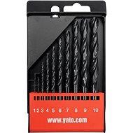 YATO  na kov 10 ks - Sada vrtákov