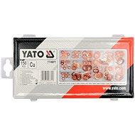 YATO Podložky tesniaca medená súprava 150 ks - Sada