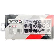 YATO O krúžok gumové tesniace súprava 225 ks, 3x1 - 22x2mm - Tesniace krúžky