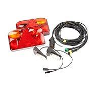 FRISTOM Elektrokabeláž k vleku 7 pin/5 m se svetlý FT-88 SET - Svetlo na vozík