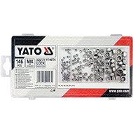 YATO Súprava 146 ks - Matice na skrutky