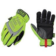 Mechanix Safety FastFit – bezpečnostné, žlté reflexné, veľkosť M - Pracovné rukavice
