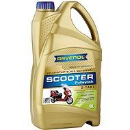 RAVENOL SCOOTER 2-Takt Fullsynth., 4 l - Motorový olej