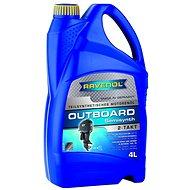 RAVENOL Outboardoel 2T Teilsynth.; 4 l - Motorový olej