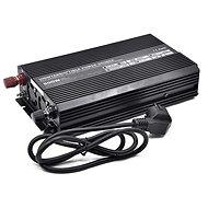 OEM Menič napätia UPS600-12 12 V/230 V 600 W s nabíjačkou 12 V/10 A a funkciou UPS - Menič napätia
