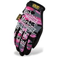 Mechanix The Original Women maskáčový vzor – dámske, veľkosť L - Pracovné rukavice