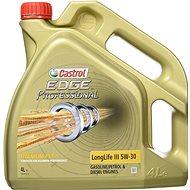 Castrol Edge Titanium Professional LL III 5W-30 4L - Motorový olej