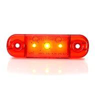 Pozičné svetlo W97.1 (709) zadné, červené LED - Svetlo na vozík