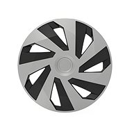 "VERSACO VECTOR lid 14 ""silver / black - Wheel Covers"
