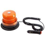 Maják micro oranžový LED magnet – skrutka 12/24 V - Maják