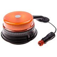 Maják oranžový LED 36 W, 12 LED, magnet, 1-funkcia - Maják