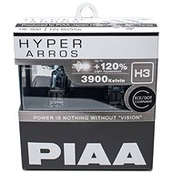 PIAA Hyper Arros 3900K H3 + 120% Increased Brightness, 2pcs - Car Bulb