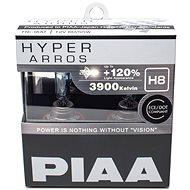 PIAA Hyper Arros 3900K H8 + 120 % zvýšený jas, 2 ks - Autožiarovka