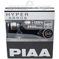 PIAA Hyper Arros 3900K HB3 + 120 % zvýšený jas, 2 ks - Autožiarovka