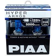 PIAA Hyper Arros 5000K H4 + 120%, jasne biele svetlo s teplotou 5000K, 2 ks - Autožiarovka