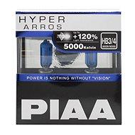 PIAA Hyper Arros 5000K HB3/HB4 + 120%, jasne biele svetlo s teplotou 5000K, 2 ks - Autožiarovka