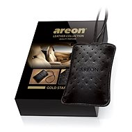 AREON LEATHER COLLECTION - Gold Star - Car Air Freshener