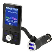 Hands free FM transmitter LCD COLOR - FM Transmitter