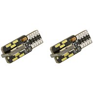 COMPASS Car Bulb 24 LED T10 NEW-CAN-BUS, White 2pcs